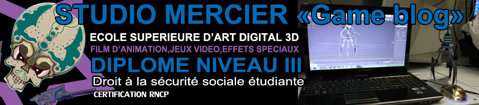Ecole jeux video Studio Mercier Game Blog