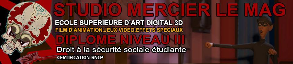 Ecole 3D Studio Mercier Le Mag