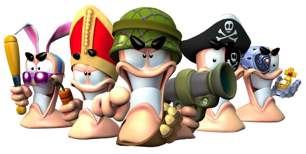 Jeux Vidéo - Worms Battlegrounds